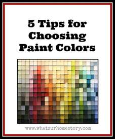 choosing paint colors 5 tips on how to choose paint colors whats ur home story