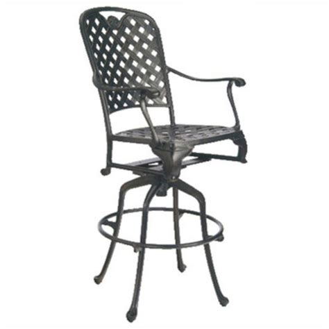 wholesale outdoor bar stools summer classics 40692 provance outdoor swivel bar stool