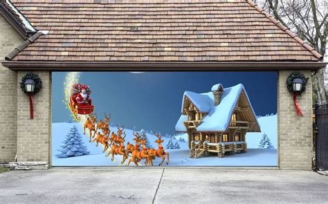 best christmas door covers 22 best images about garage door covers on house decorations house and garage doors