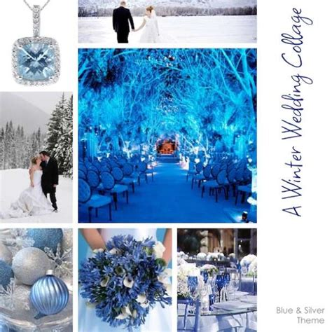 blue and silver theme silver and blue winter wedding theme for wedding industry professionals