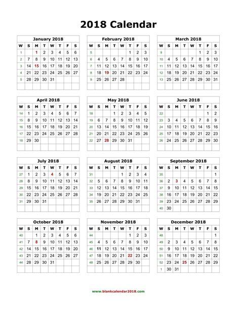 printable yearly calendars 2018 free printable 2018 yearly calendar journalingsage com