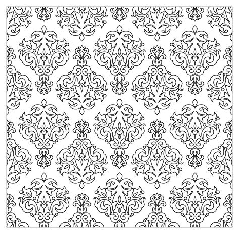 Vintage Patterns Coloring Pages | vintage patterns by kostins vintage coloring pages for