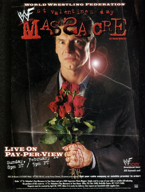valentines day massacure ftw commentaries wwf st s day 1999