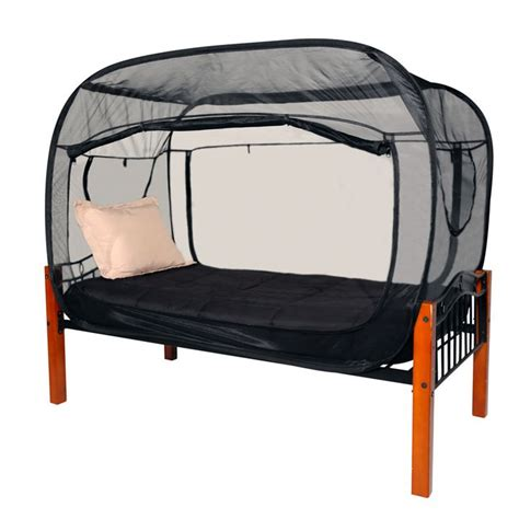 amazon com privacy pop bed tent queen black toys games privacy pop bug tent black product detail privacy pop 174