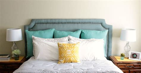 nailhead trim headboard diy diy headboard with nailhead trim hometalk