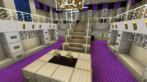 minecraft large closet walk in purple chandelier two story