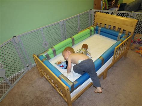 diy toddler bed rail mama frankenstein diy toddler bed bumper tutorial