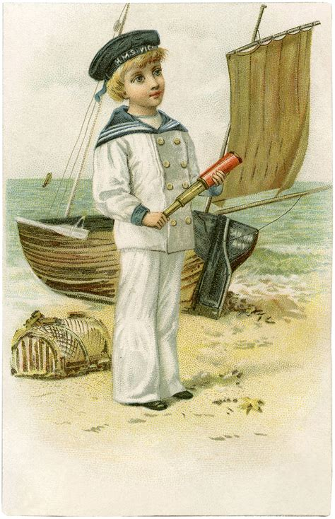 Sailor Boy cutest vintage sailor boy image the graphics