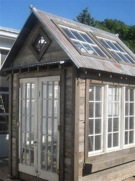 Garden Shed Windows And Doors by Greenhouse Of Windows And Doors Garden Sheds