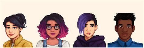 Hair Style Tools Name Farm by Stardew Valley Player Mods To Make Characters More