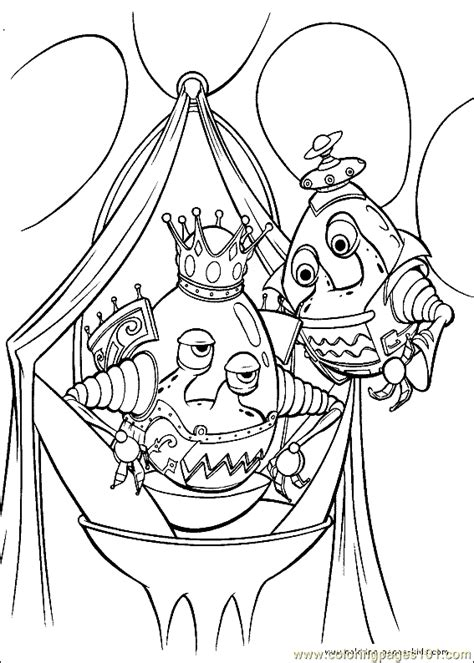 coloring book genius jimmy neutron coloring page 07 coloring page free the