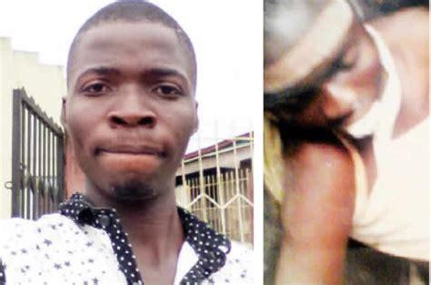 death men in nigeria assistant superintendent of police tortures carpenter to