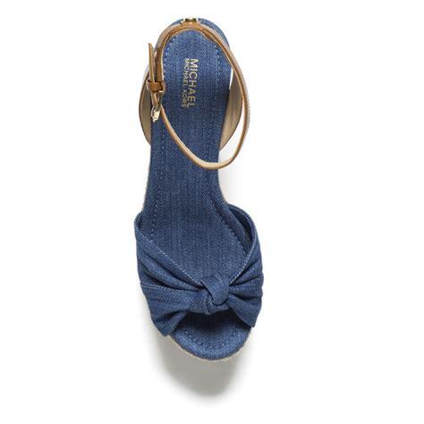 Sandal Wedges Uk 37 Merk Conexion michael michael kors s maxwell mid wedge sandals