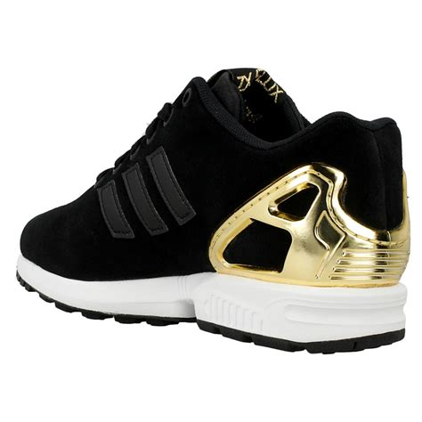 adidas gold adidas flux black and gold lesleypearson co uk
