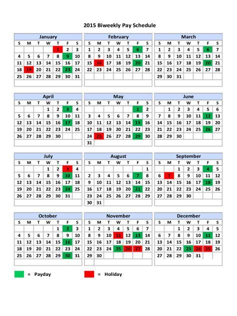 biweekly payroll calendar excel payroll calendar