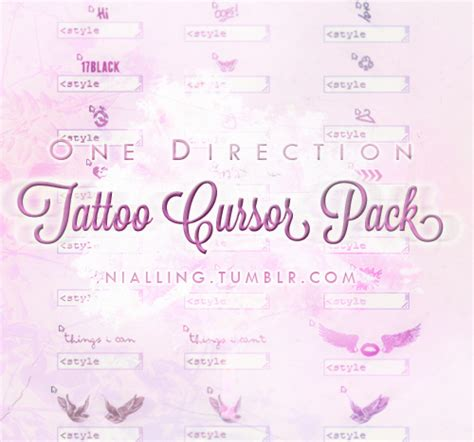 tumblr themes and cursors 1d cursors on tumblr