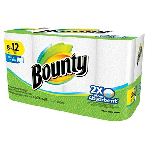 Who Makes Bounty Paper Towels - bounty paper towels as low as 73 per roll target