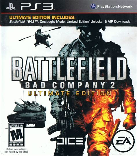 Ps3 Battlefield Bad Company 2 Ultimate Edition battlefield bad company 2 ultimate edition playst