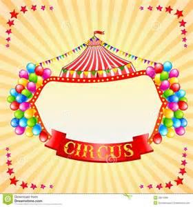 vintage circus poster royalty free stock image image
