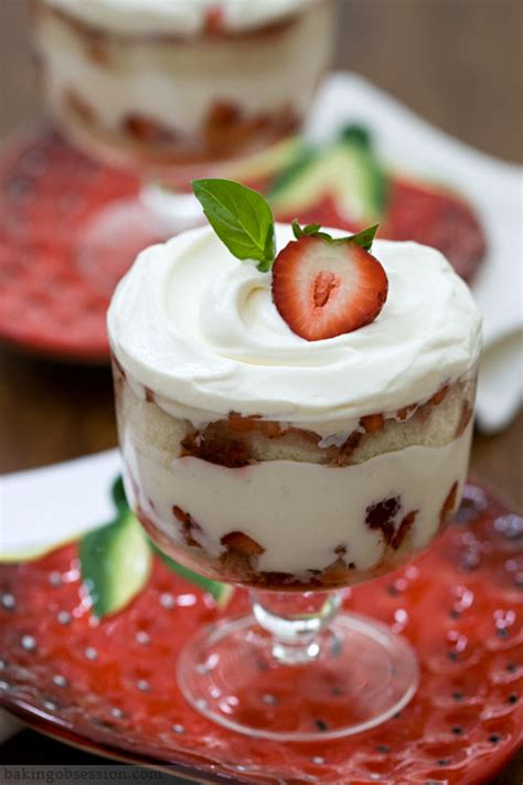 No Bake Dessert Sorbet With Limoncello Spiked Fruit by Lemon And Basil Strawberry Trifle Baking Obsession
