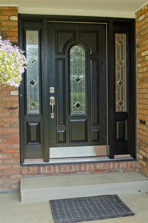 Cheap Wooden Front Doors Doors Interesting Exterior Door With Window That Opens Discount Windows Entry Doors With