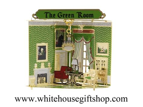 The White House Gift Shop by Rooms Of The White House Collection The Green Room From