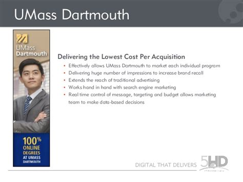 Umass Dartmouth Mba Cost by Programmatic Advertising For Graduate And Continuing Education