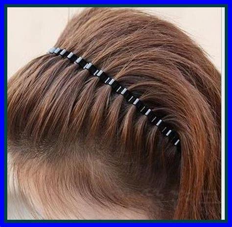 Jual Beli Rambut Sambung jual beli bando rambut headband model gelombang besi