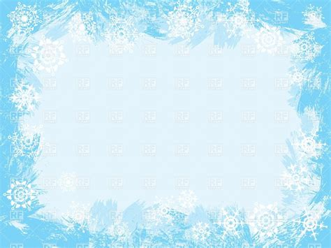 Ice Clipart Frame Pencil And In Color Ice Clipart Frame Snow Background For Powerpoint