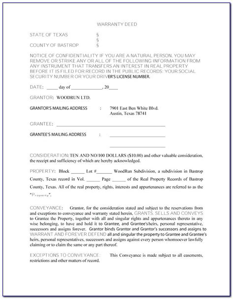 florida bar warranty deed form girlinathunderbolt