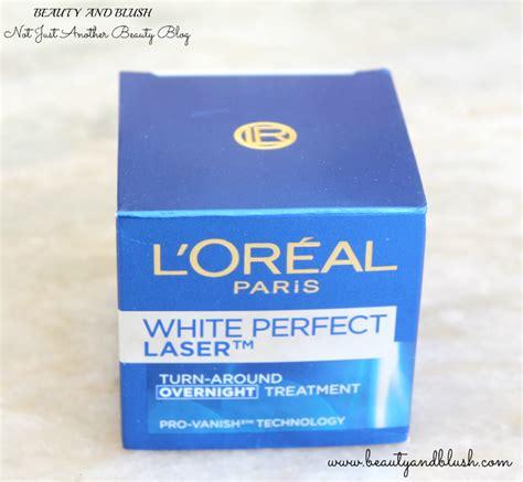 L Oreal White Laser l oreal white laser overnight treatment