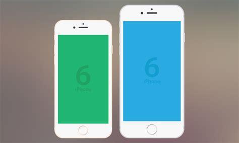 freebie iphone  flat vector mockup dreamstale