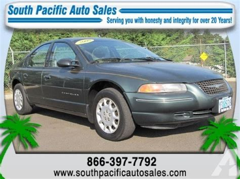 2000 Chrysler Cirrus Lx by 2000 Chrysler Cirrus Lx For Sale In Albany Oregon