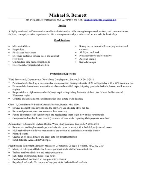 unit clerk resume resume ideas