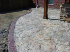 Concrete Stamped Patio by St Louis Hardscape Contractor Gt Gt Call Barker Amp Son At 314