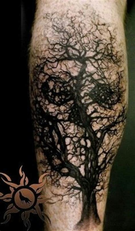 scary tree tattoo designs skull tree tatt trees mind