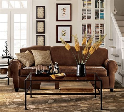 pottery barn style sofa wonderful pottery barn manhattan sofa homesfeed