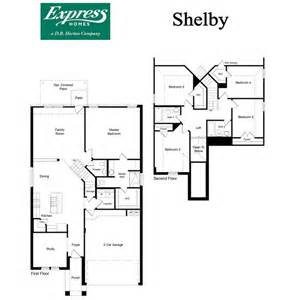 express homes floor plans shelby parkview fort worth texas d r horton