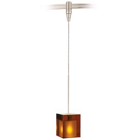 Tech Lighting Cube Pendant Cube Satin Nickel Glass Tech Lighting Monorail Pendant 82960 84050 Ls Plus
