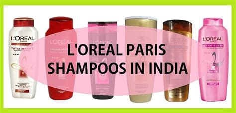 Top L'Oreal Paris Shampoos in India L'oreal India
