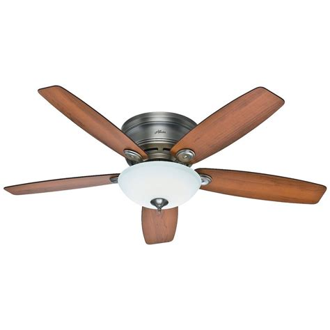 Low Profile Ceiling Fan With Light Low Profile Ceiling Fans With Lights Neiltortorella