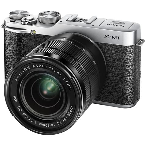 Kamera Mirrorless Fuji fujifilm x m1 mirrorless digital with 16 50mm 16391516
