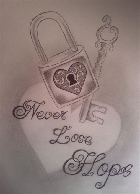 never lose hope tattoo never lose by iloveink666 on deviantart