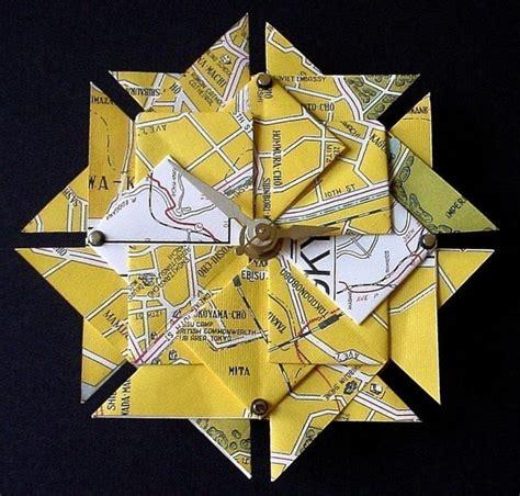 Origami Tokyo - tokyo map origami clock gadgets matrix