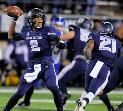 Utah State Search Of The Day Utah State Highlights From Resounding Win Boise State