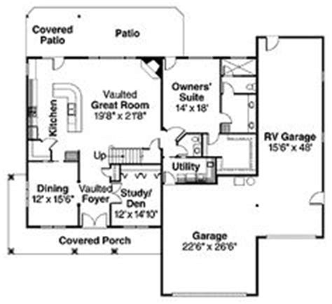 rv port home floor plans 1000 images about small house plans on pinterest rv
