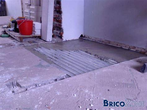 chape sèche sur plancher bois 1266 chape l 233 g 232 re plancher bois faire une chape l g re sur
