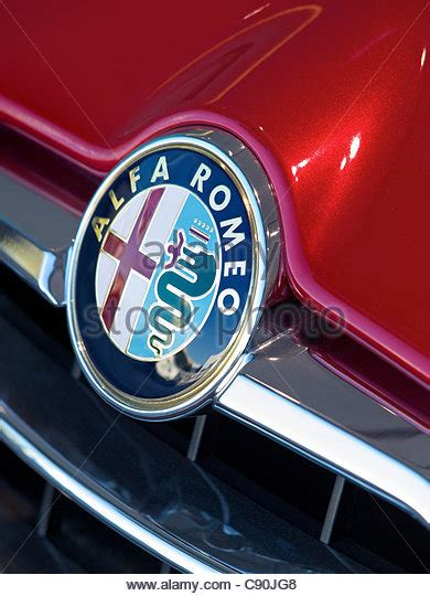 vintage alfa romeo logo alfa romeo badge stock photos alfa romeo badge stock