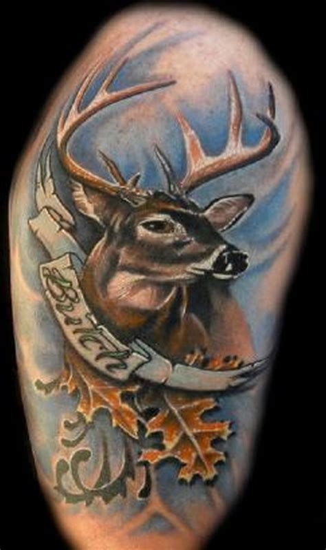 camo tribal tattoo deer tattoos 25 amazing deer tattos tattoos book