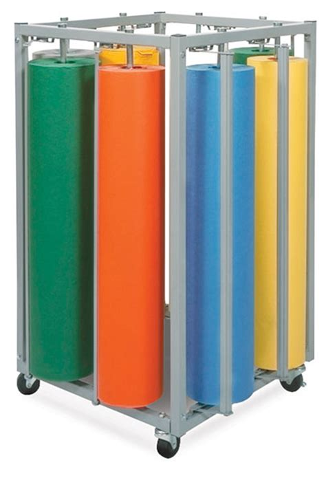 Eight Rack by 8 Roll Vertical Rack Blick Materials